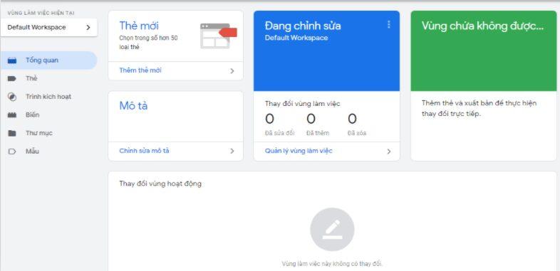 Hình 8. Thêm thẻ mới ở giao diện Google Tag Manager